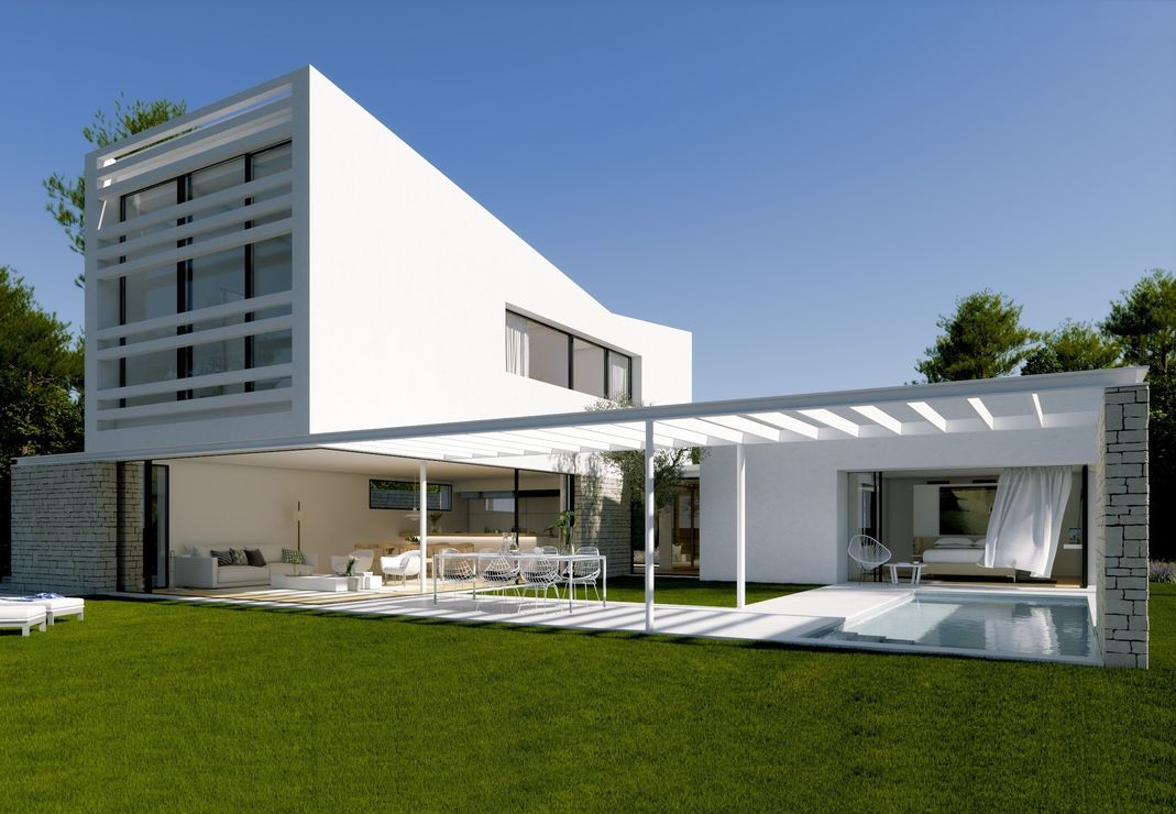 Conjunto de 8 viviendas unifamiliares en hilera en caldes - Proyectos casas unifamiliares ...